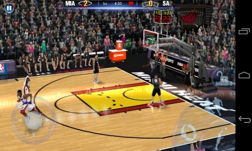 NBA 2K14手游app截图