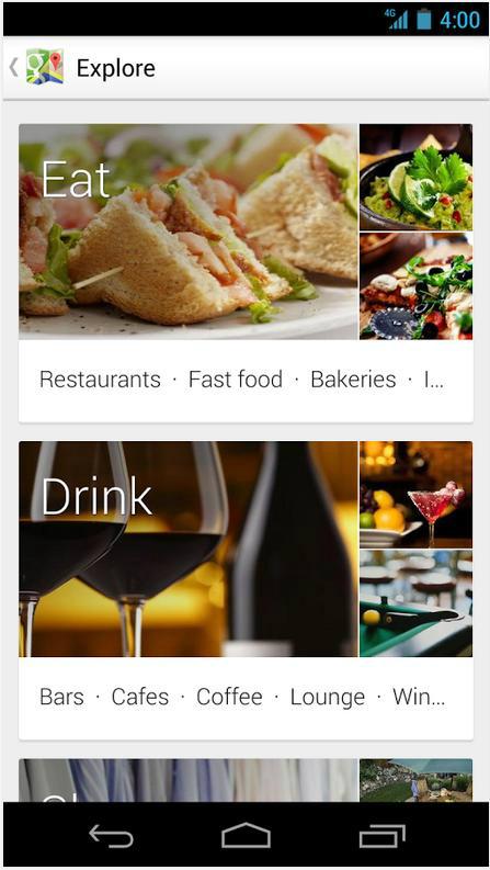 谷歌地图手机软件app截图