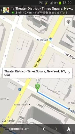 地图导航手机软件app截图