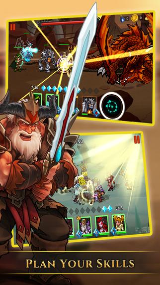 英雄与冒险手游app截图