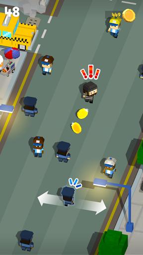 方块警察抓小偷手游app截图