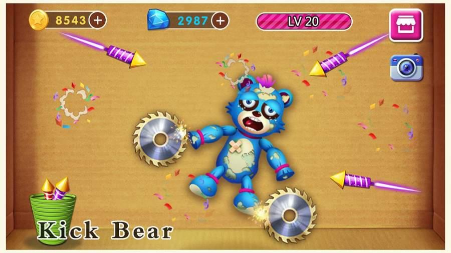 击败恶熊手游app截图
