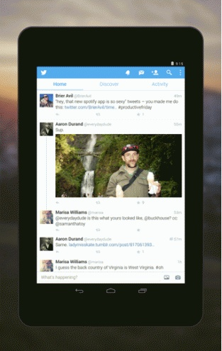 Twitter手机软件app截图