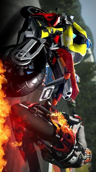 摩托赛车竞速手游app截图