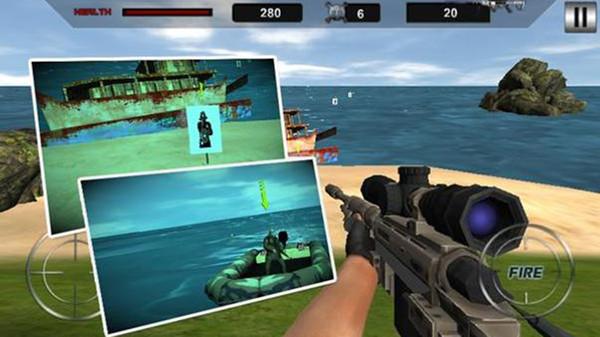 岛屿争夺战刺客射手手游app截图