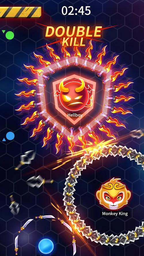 刀剑大乱斗3D手游app截图