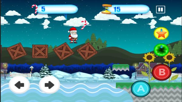 圣诞老人的冒险世界手游app截图