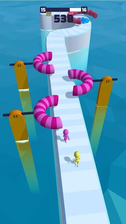 小人竞速3D手游app截图