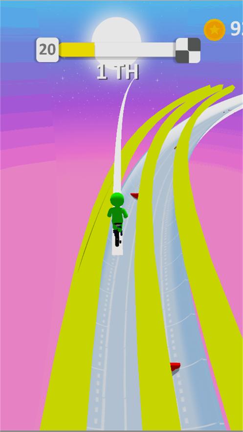 火柴人独轮车极限竞速赛手游app截图