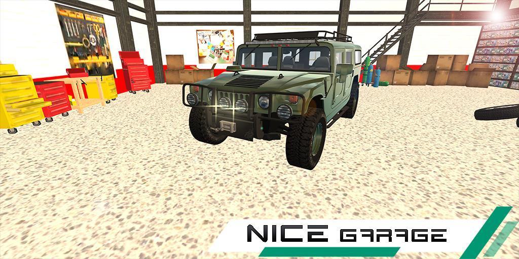 悍马汽车漂移模拟器手游app截图