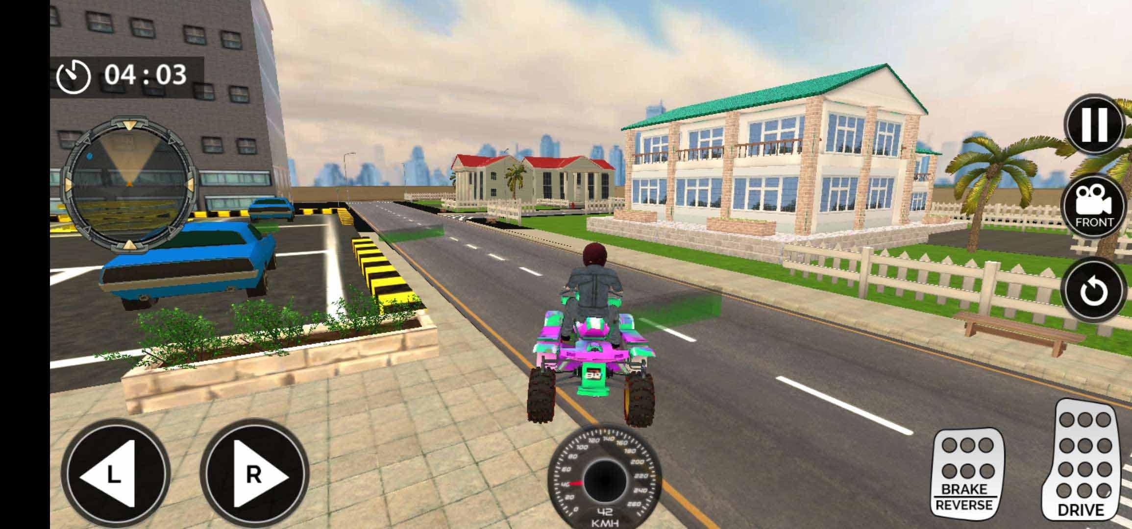 极限屋顶四轮摩托车手游app截图