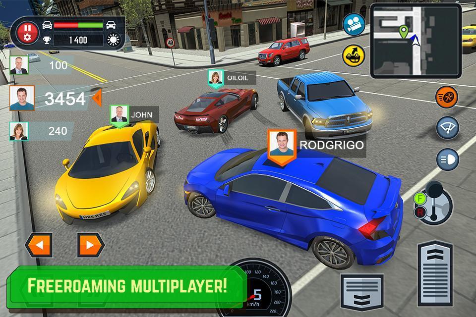 驾驶学校模拟 联机版手游app截图