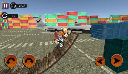 现代疯狂的绝技摩托车手游app截图