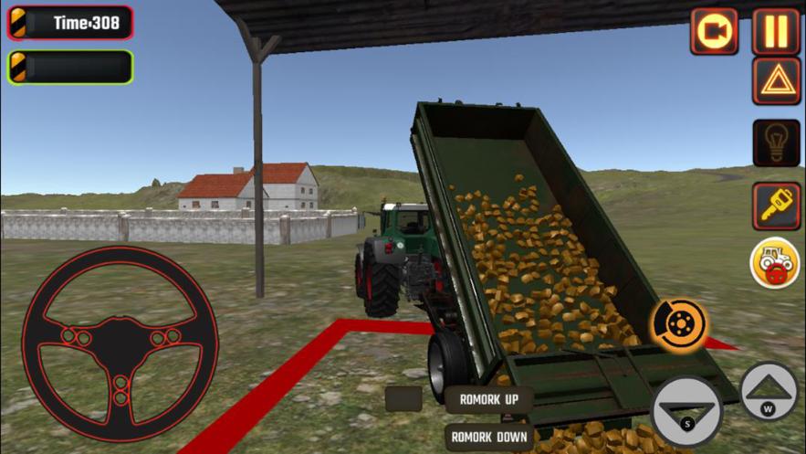 农用拖拉机模拟器2020 汉化版_蔚蓝天空下载站