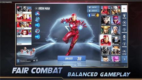漫威超级战争 官方正版手游app截图