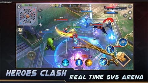 漫威超级战争 2021最新版手游app截图