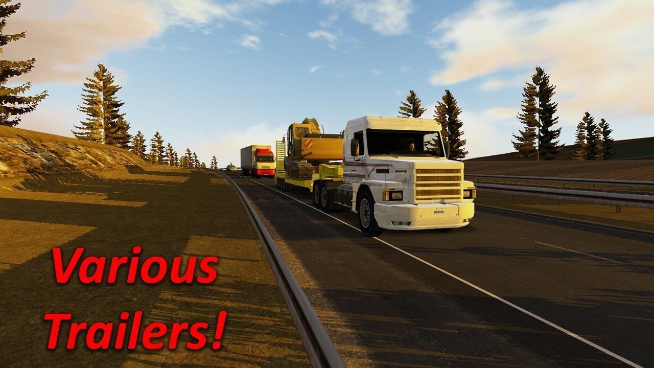 重型大卡车模拟驾驶 最新版手游app截图