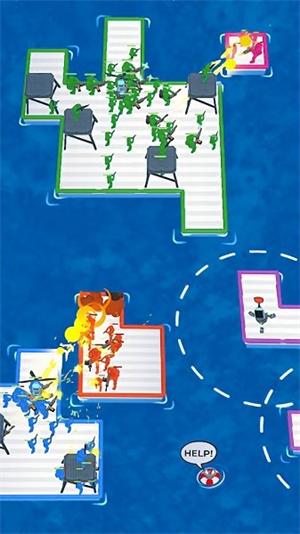 海上木筏之战手游app截图