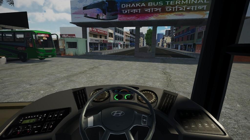 巴士模拟器孟加拉国手游app截图