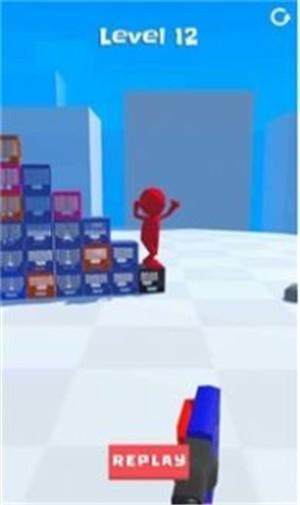 打倒牛奶箱3D手游app截图