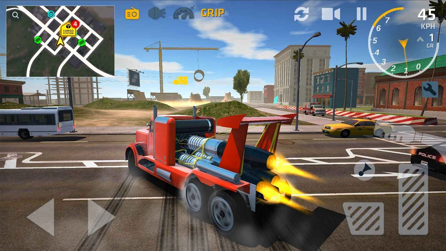 终极卡车模拟器 手机版手游app截图