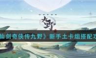 仙剑奇侠传九野新手土卡组