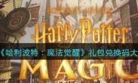 哈利波特魔法觉醒礼包兑换