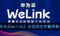 welink云空间文件怎么翻译