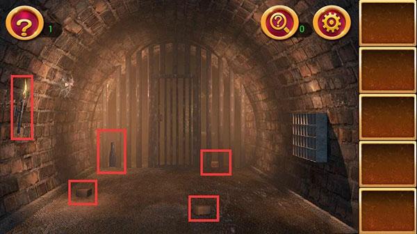 《密室逃脱1:逃离地牢》第3关攻略