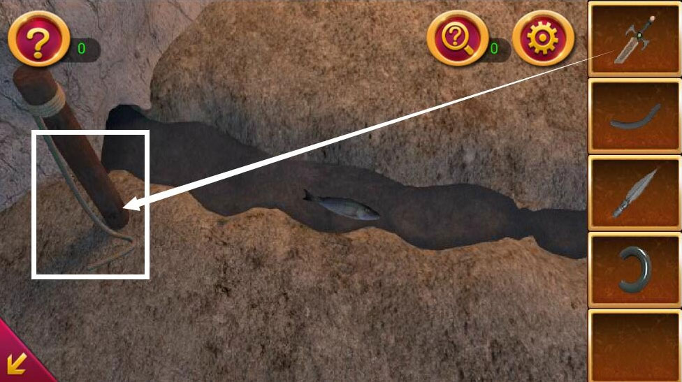 《密室逃脱1:逃离地牢》第16关攻略