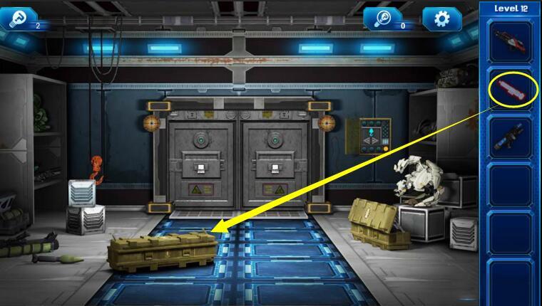 《密室逃脱9:逃出太空船》第12关攻略