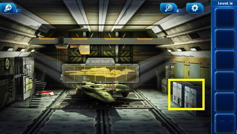 《密室逃脱9:逃出太空船》第14关攻略