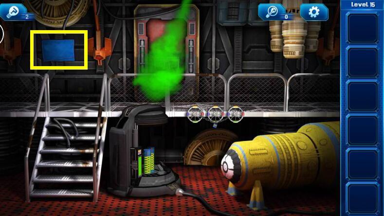 《密室逃脱9:逃出太空船》第15关攻略
