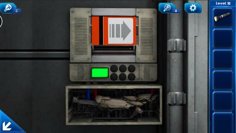 《密室逃脱9:逃出太空船》第16关攻略
