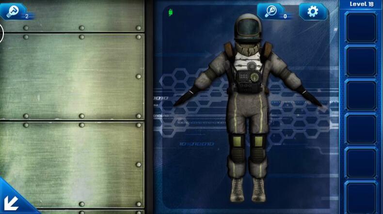 《密室逃脱9:逃出太空船》第18关攻略