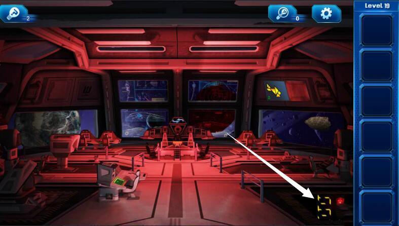 《密室逃脱9:逃出太空船》第19关攻略