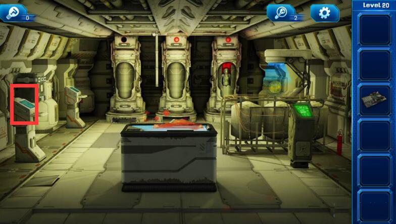 《密室逃脱9:逃出太空船》第20关攻略