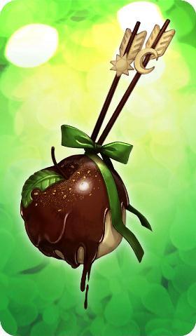 《命运冠位指定》礼装苹果弓箭巧克力图鉴
