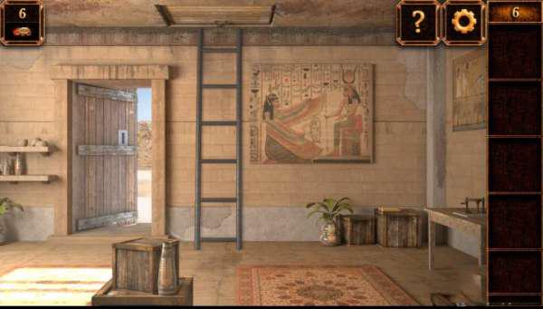 《密室逃脱11:逃出神秘金字塔》第6关攻略