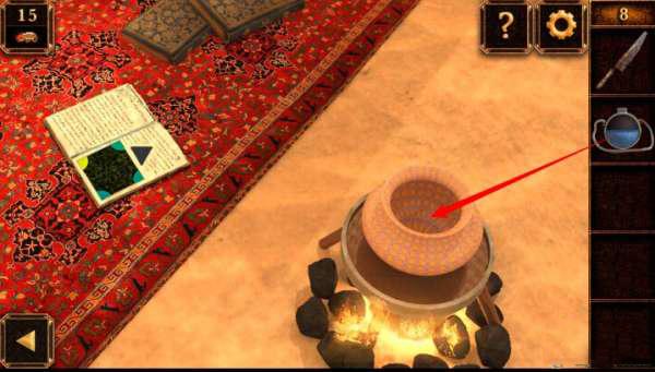 《密室逃脱11:逃出神秘金字塔》第8关攻略