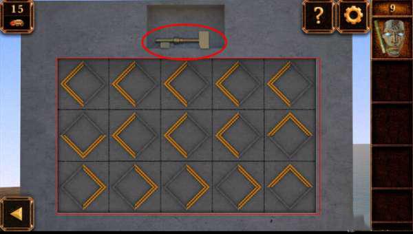 《密室逃脱11:逃出神秘金字塔》第9关攻略