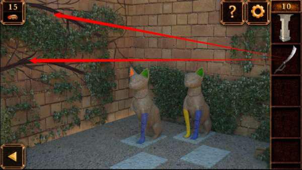 《密室逃脱11:逃出神秘金字塔》第10关攻略