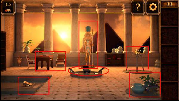 《密室逃脱11:逃出神秘金字塔》第11关攻略