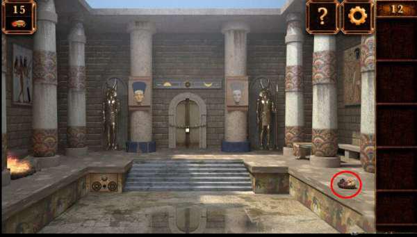 《密室逃脱11:逃出神秘金字塔》第12关攻略