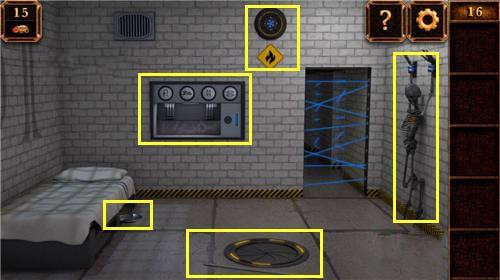 《密室逃脱11:逃出神秘金字塔》第16关攻略