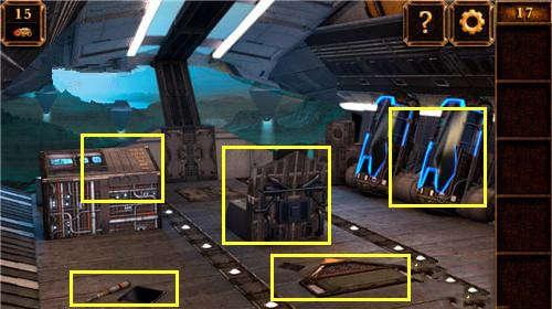 《密室逃脱11:逃出神秘金字塔》第17关攻略