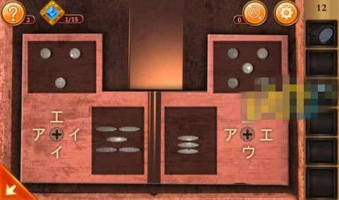 《密室逃脱12:逃出神秘神庙》第12关攻略
