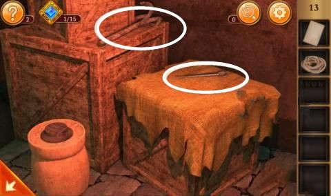 《密室逃脱12:逃出神秘神庙》第13关攻略