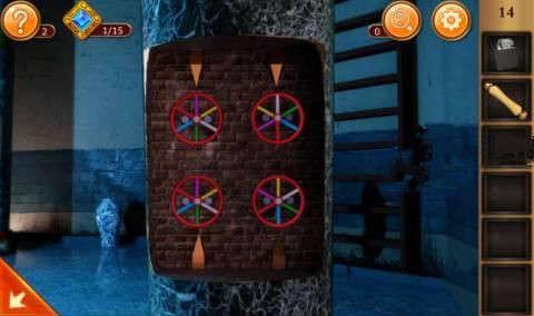 《密室逃脱12:逃出神秘神庙》第14关攻略