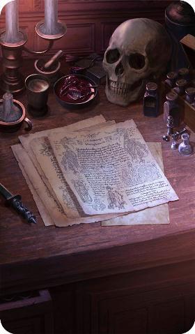 《命运冠位指定》来自朋友的信礼装图鉴